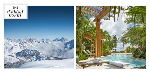 Nature, Property, Sky, Tree, Real estate, Design, Photography, Interior design, Tourism, Hill station,