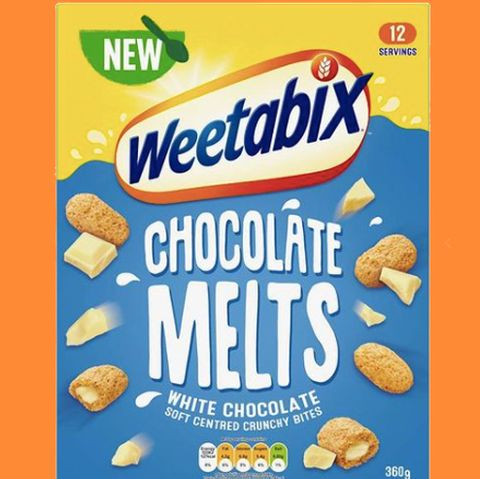 weetabix has launched white chocolate melts cereal and breakfast will never be the same again