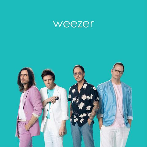 Weezer Teal Album Review Weezer Covers No Scrubs Billie Jean And