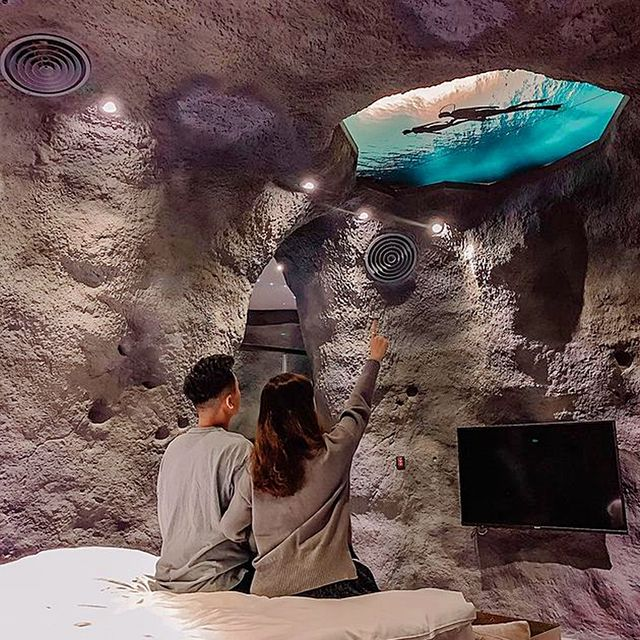 網美必住奇特旅館!8間「台中特色旅館推薦」,廢墟工業風、70年代英式復古風、海底洞穴,進去就不想出來!