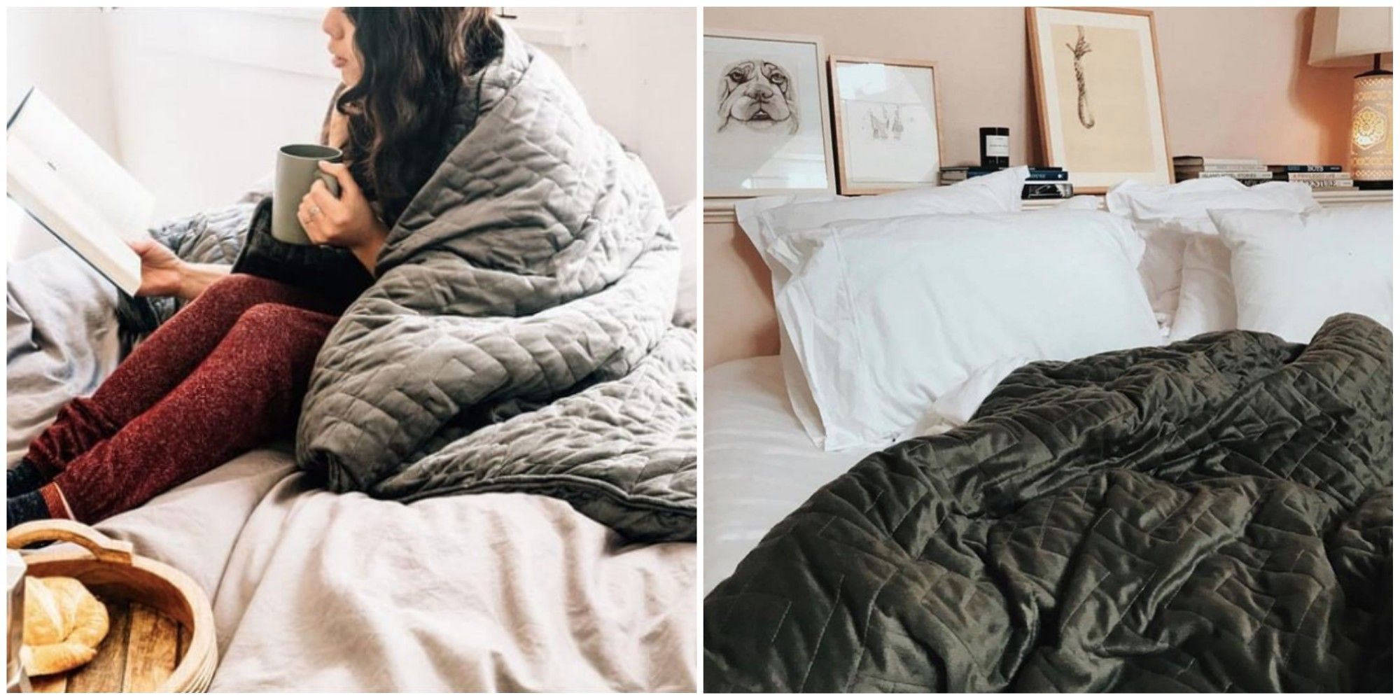 Weighted Blankets Designed to Relieve Anxiety and Insomnia Are on Sale for Just $53 Today