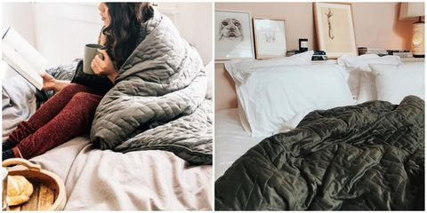 People Swear These Weighted Blankets Are The Best Anxiety And Insomnia Remedy