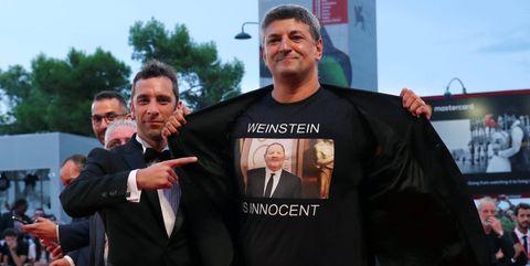 Weinstein inocente festival venecia