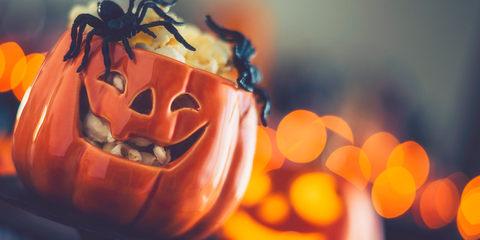 pumpkin bowl halloween