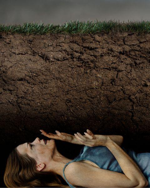 weird phobias Taphophobia buried alive