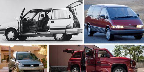 The Weirdest Minivans Ever Made