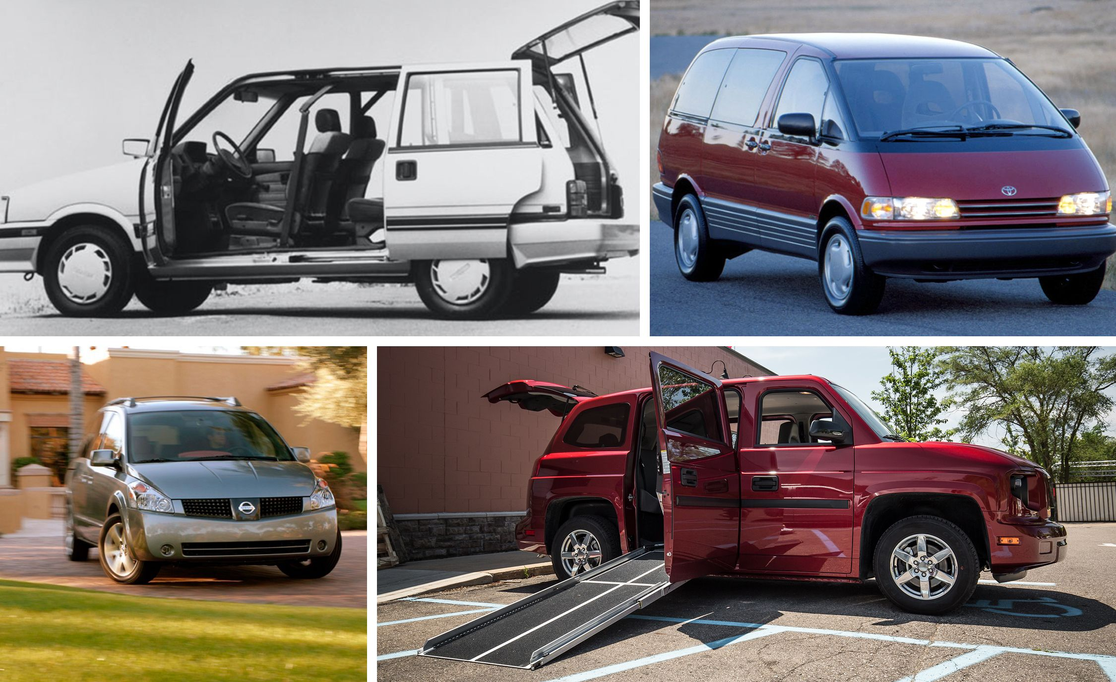weirdest, most unique minivans ever