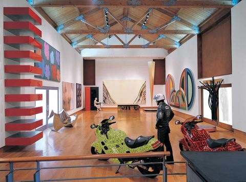 the annex gallery at the weisman foundation's home