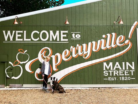 welcome to sperryville mural happy camper equipment co