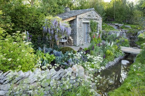 welcome to yorkshire garden designed by mark gregory, built by landform consultants   chelsea flower show 2018