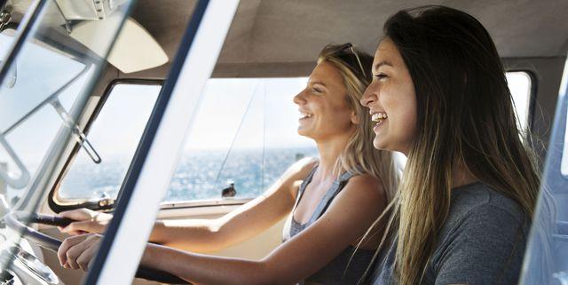 twee vrouwen op vakantie