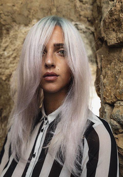 Hair, Blond, Face, Hairstyle, Beauty, Long hair, Hair coloring, Layered hair, Chin, Lip,