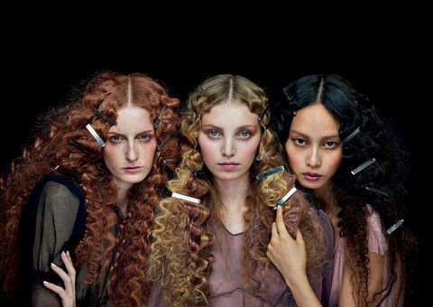 Hair, Face, Fashion, Beauty, Head, Hairstyle, Human, Fashion design, Fun, Eye,
