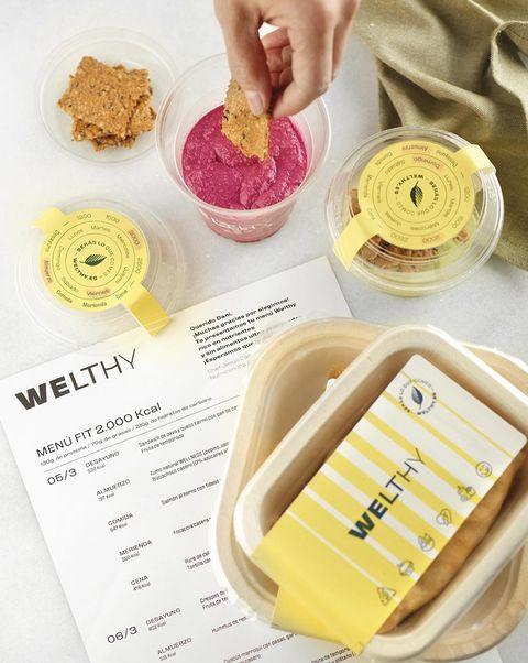 welthy comida saludable a domicilio
