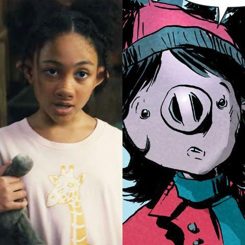 sweet tooth cast vs comics