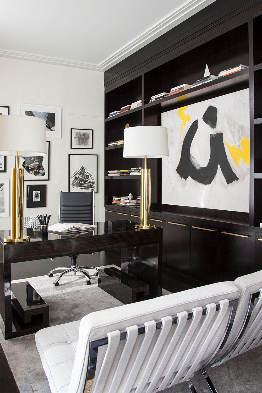 25 Stylish Built-In Bookshelves - Floor-to-Ceiling Shelving ...