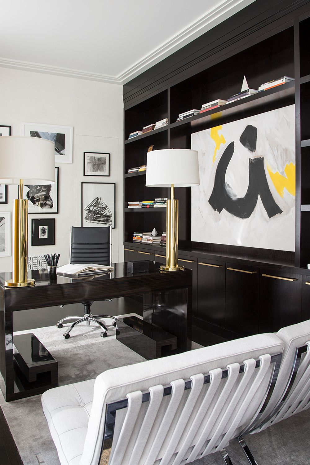 Luxe Floor To Ceiling Shelving