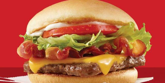 Junior Bacon Cheeseburgers