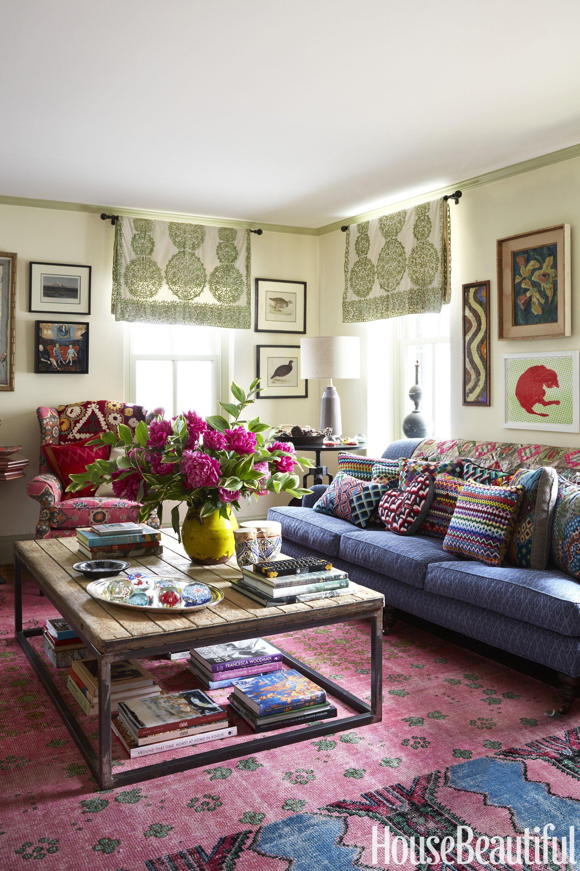 Wendy Wurtzburger And Chris Bentley Living Room