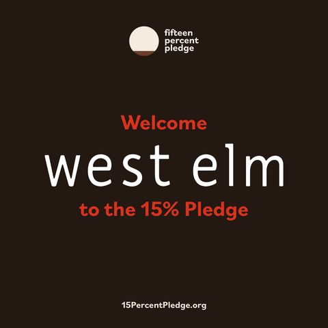 west elm was one of the first businesses to sign the pledge