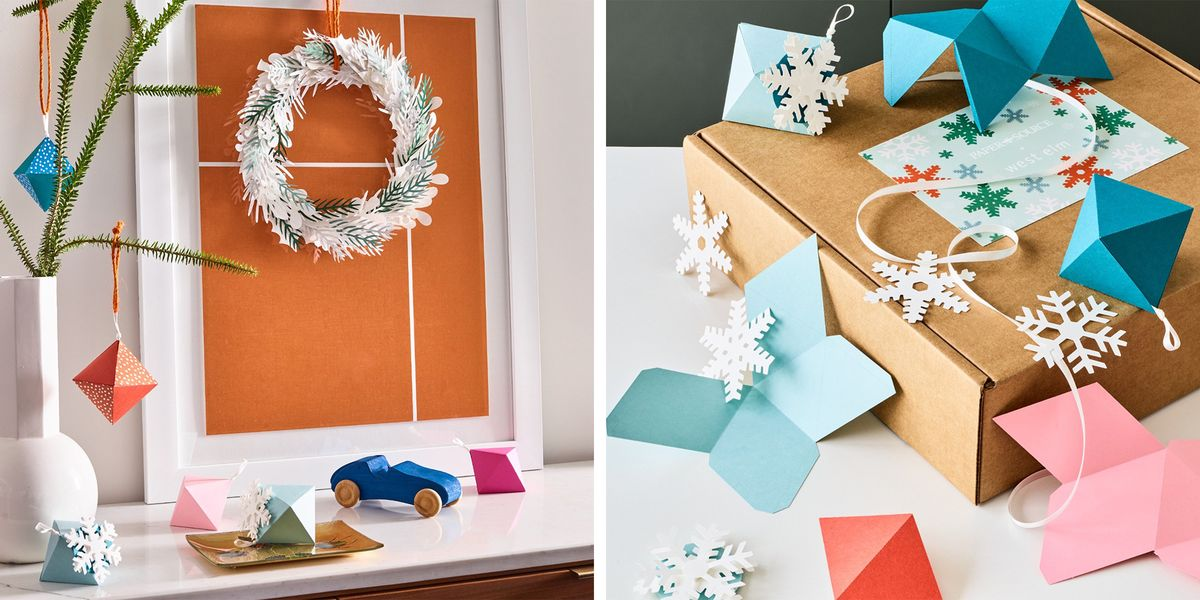 Your Holiday Decor Will Be Extra Special This Year, Thanks to the West Elm x Paper DIY Craft Box