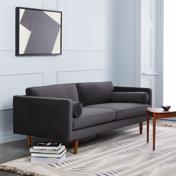 Get West Elm S Mid Century Modern Monroe Sofa Look For Less Stylish Couches Under 500