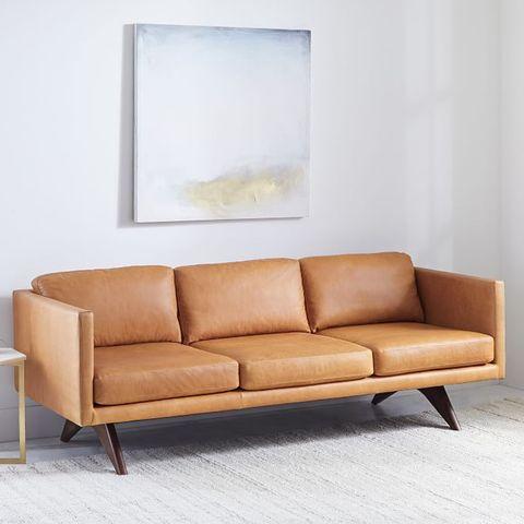 Westelm Brooklyn Leather Sofa