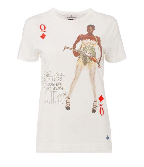 White, Clothing, T-shirt, Sleeve, Shoulder, Top, Active shirt, Neck, Font, Fashion design,