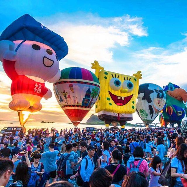微旅行景點入場須知總整理,台東熱氣球嘉年華,相關規定這裡看!