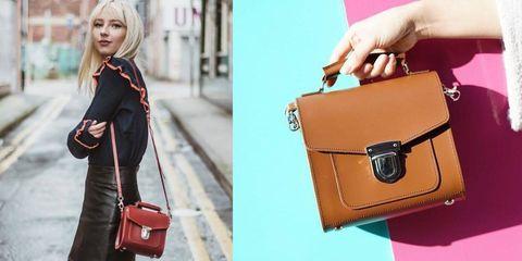 Bag, Handbag, Shoulder, Street fashion, Leather, Brown, Fashion accessory, Fashion, Satchel, Material property,