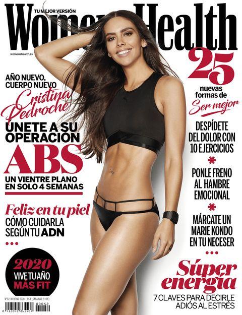 Cristina Pedroche en la portada de Women's Health