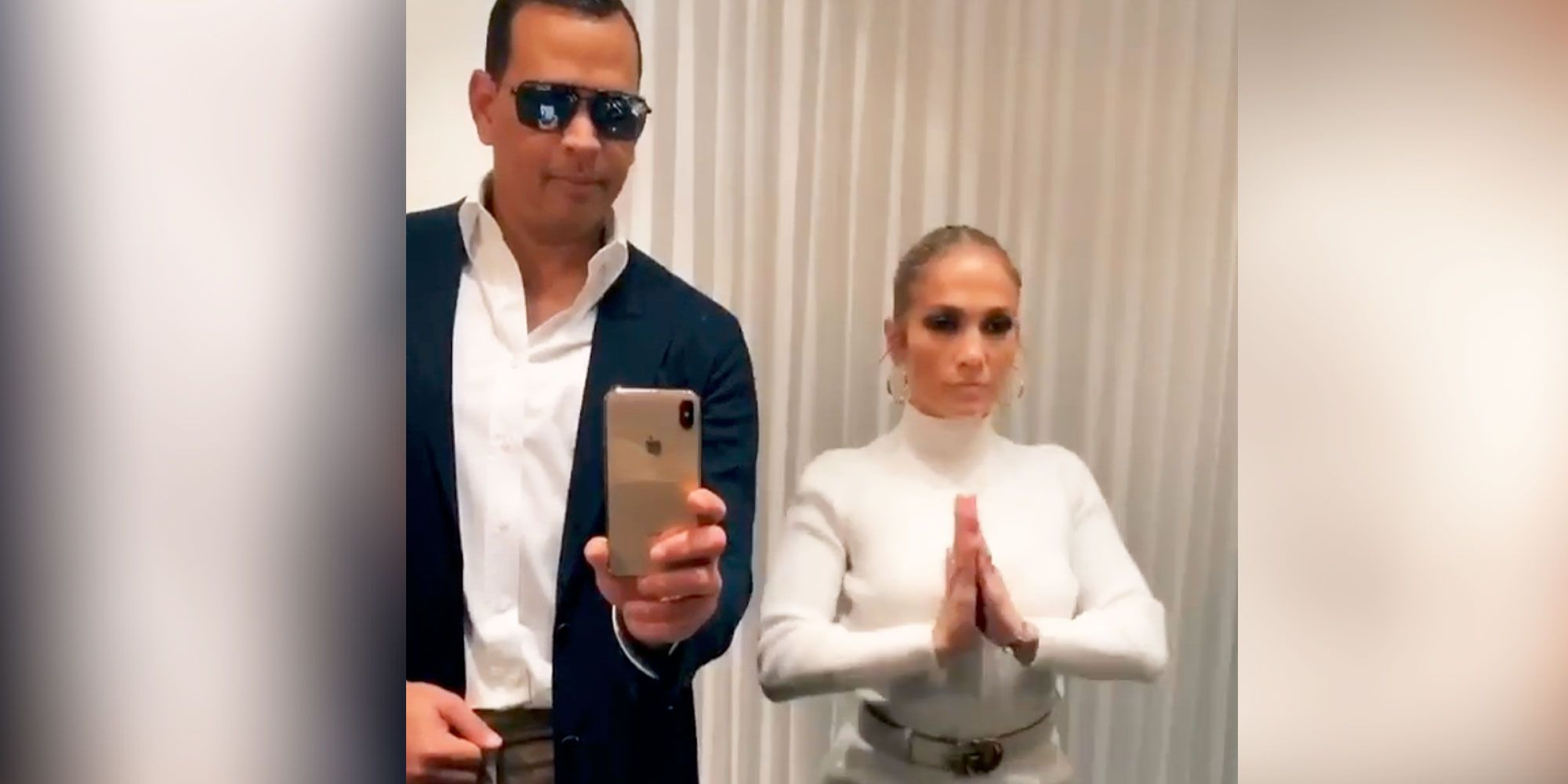 Jennifer Lopez & Alex Rodriguez Do 'Flip The Switch' TikTok Dance