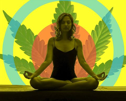 """Pot Yoga—a.k.a. """"Yoganja""""—Is a Thing That Exists"""