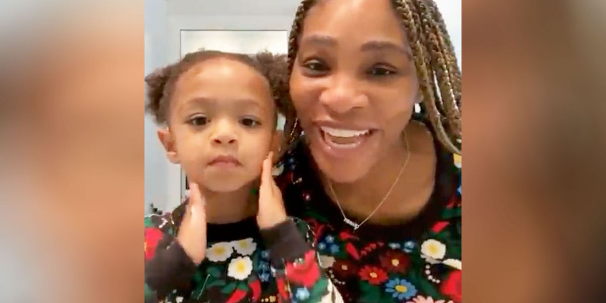 Serena Williams Just Shared Her Morning Skincare Routine With Daughter Olympia, And It's Adorable - Women's Health
