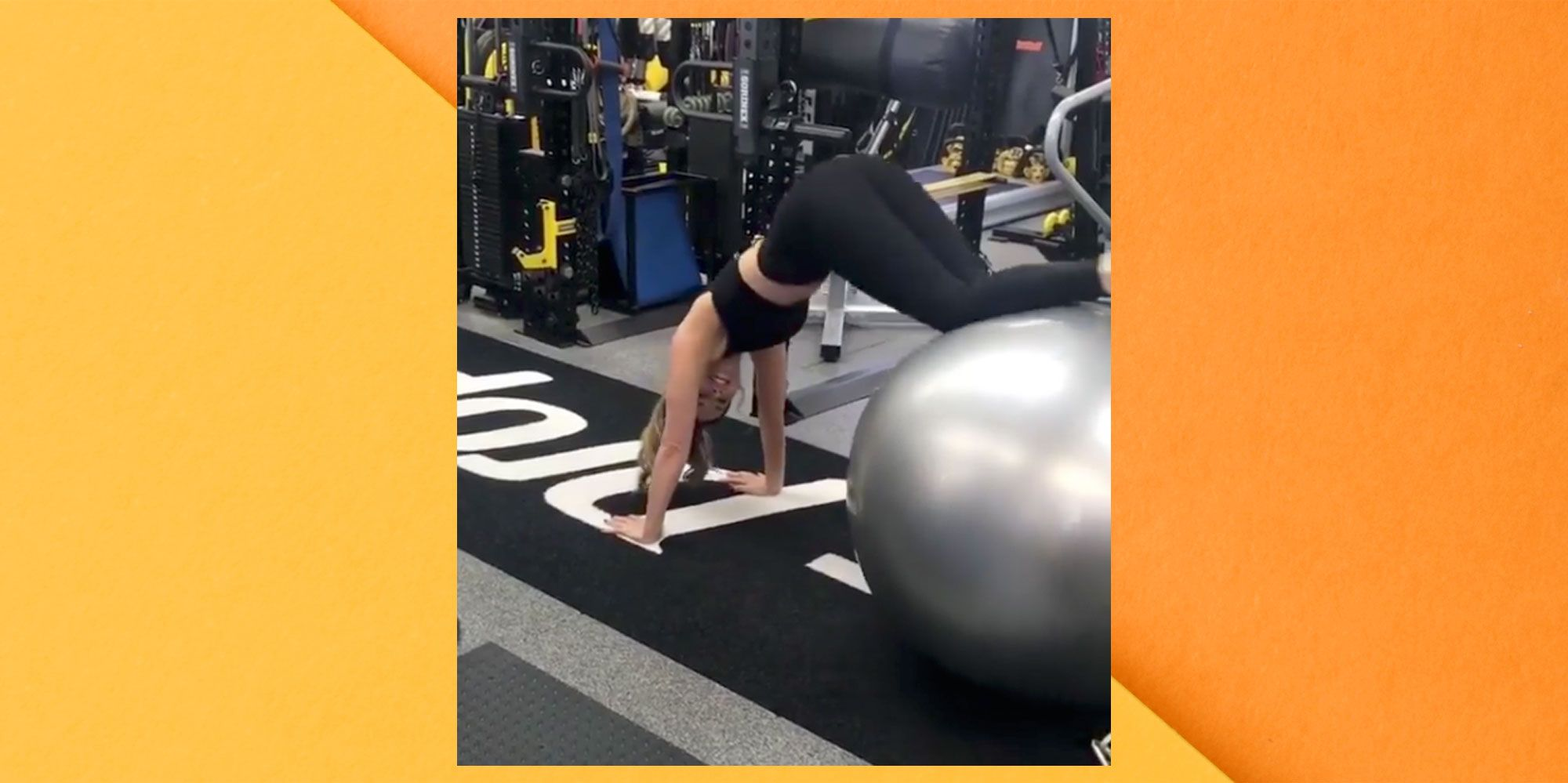 At 46, Kate Beckinsale Just Shared A Crazy Total-Body Stability Ball Workout On Instagram