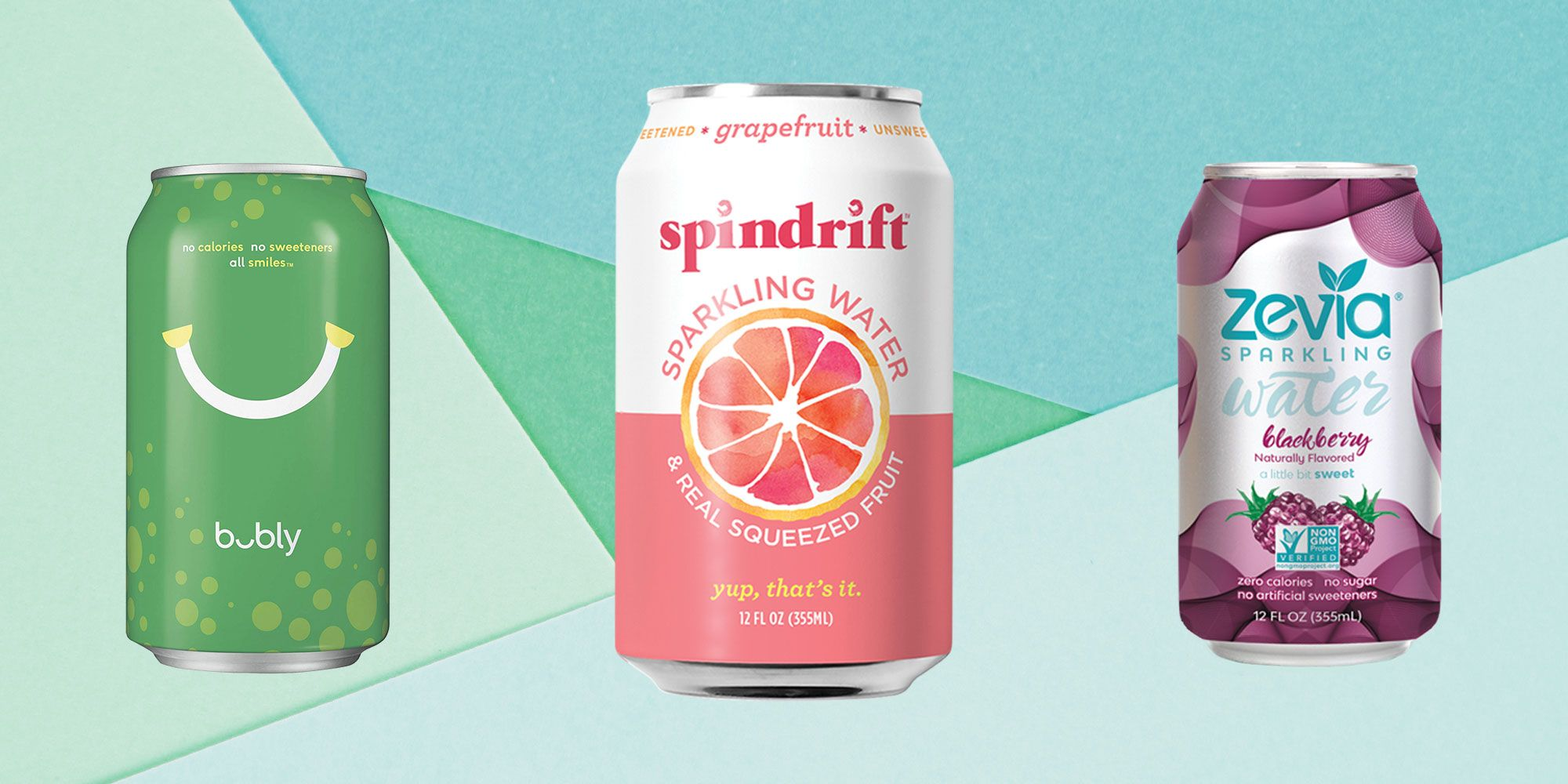 The 11 Best Sparkling Water Brands, According To Dietitians