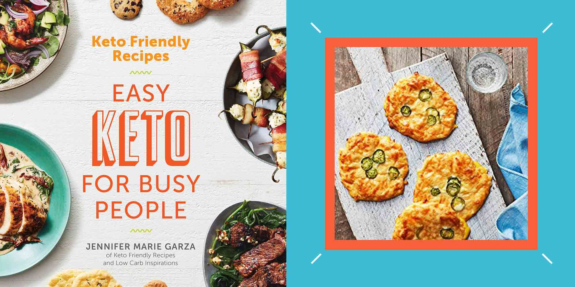 The 'Easy Keto For Busy People' Cookbook Makes The Diet Sustainable When Life Gets Crazy