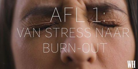 Van stress naar burn-out