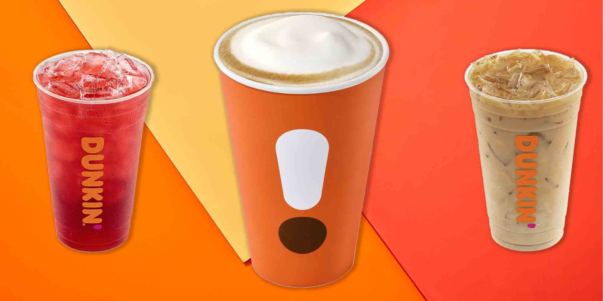 The 30 Healthiest Drinks You Can Order At Dunkin'