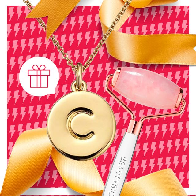 Pink, Yellow, Gift wrapping, Material property, Font, Fashion accessory, Ribbon, Present,