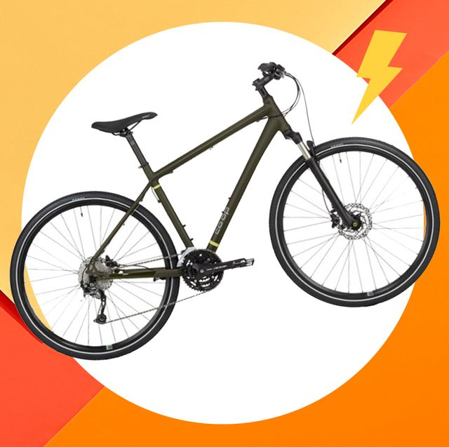 bicycle on colorful background