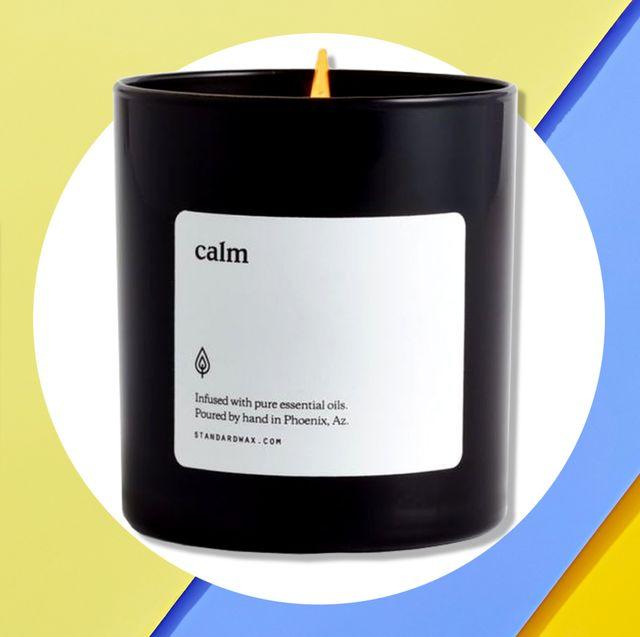 Candle, Product, Yellow, Lighting, Material property, Drinkware, Label, Mug, Interior design, Brand,