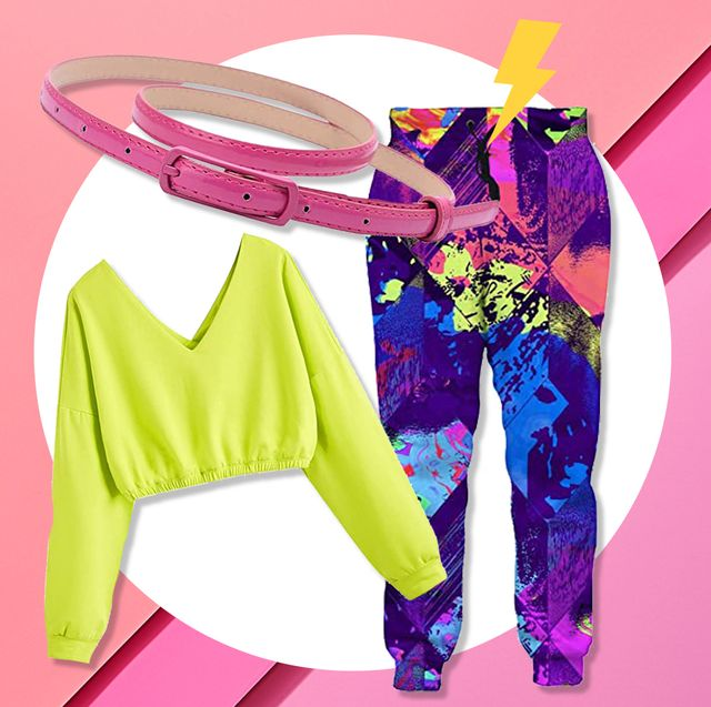 80s workout costume gear