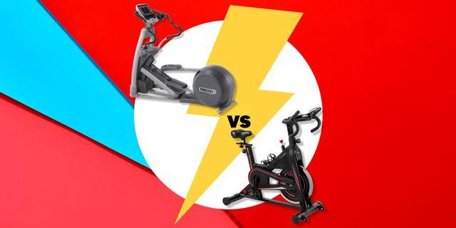 elliptical vs exercise bike