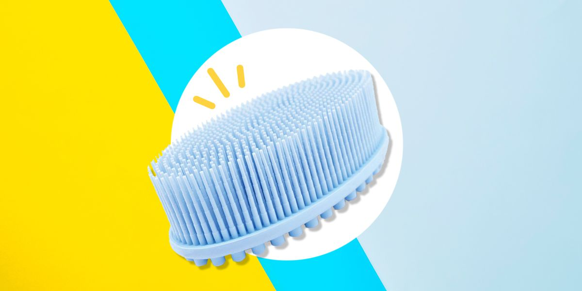 This Silicone Body Scrubber Acts As Loofah Replacement In Shower