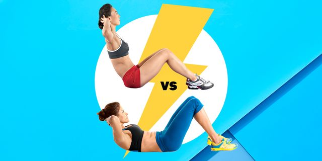 situps vs crunches