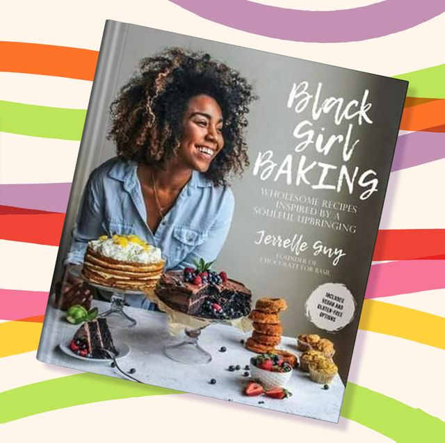 your bookshelf needs these black authored cookbooks afro vegan farm fresh african, caribbean, and southern flavors remixed by bryant terry black girl baking wholesome recipes inspired by a soulful upbringing by jerrelle guy carla hall's soul food everyday and celebration by carla hall