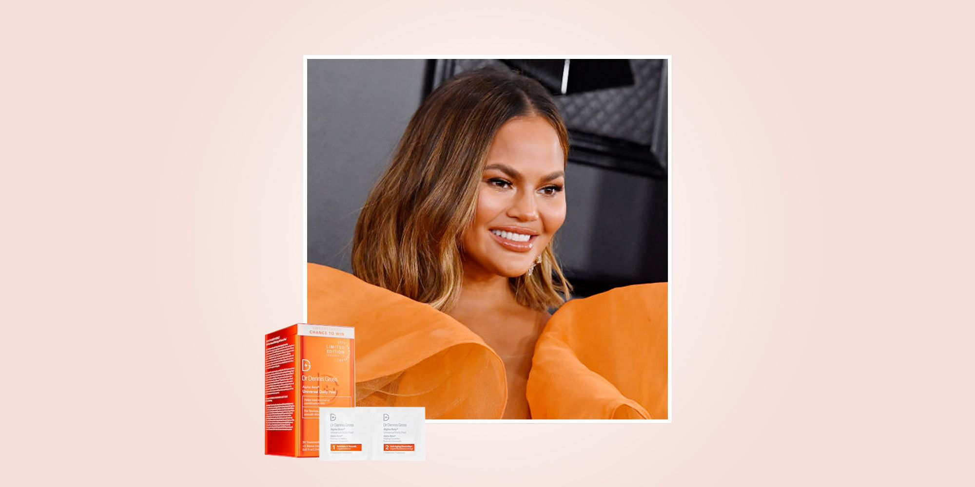 Chrissy Teigen's Favorite Dr. Dennis Gross Peels On Sale At Sephora