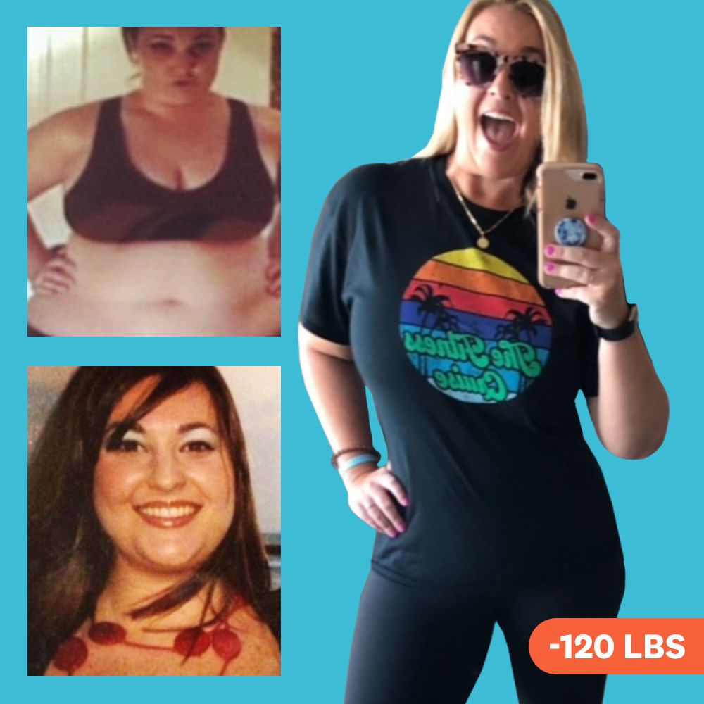 'I Ate A Low-Carb, Low-Sugar PCOS Diet To Lose 120 Pounds'