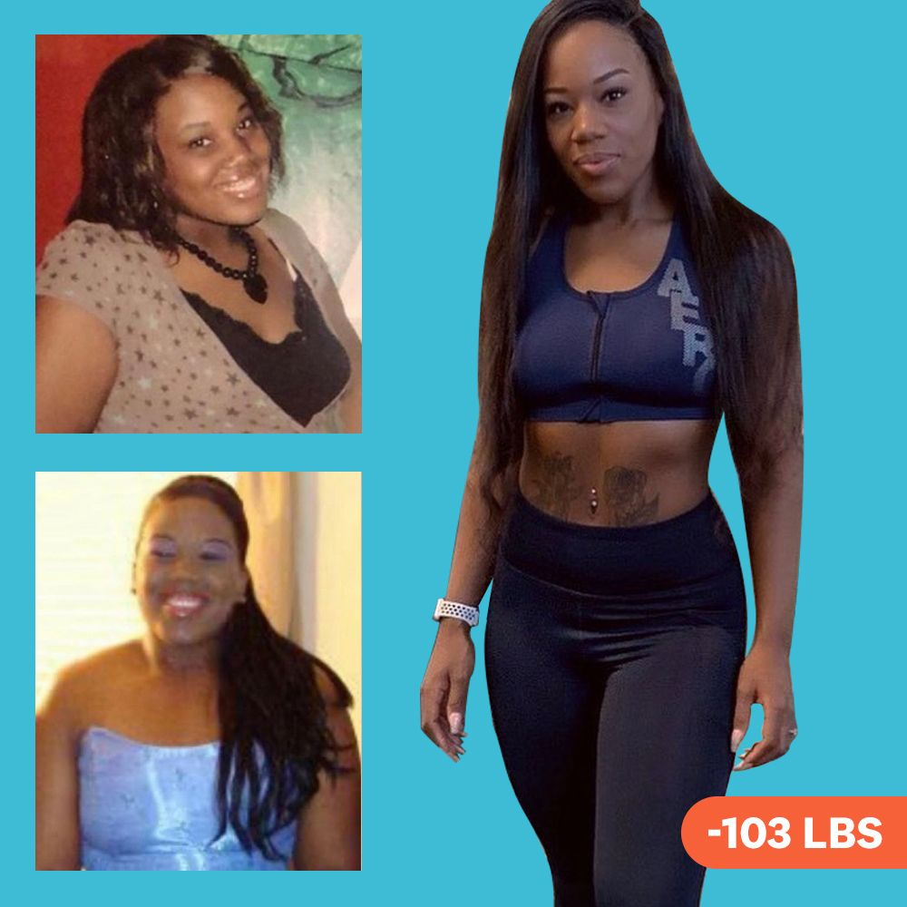 'I Found Healthy Alternatives To My Favorite Foods And Did HIIT Cardio To Lose 103 Pounds'